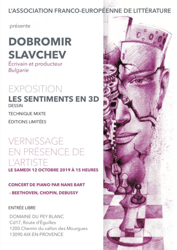 Exposition Dobromi Slavchev 2019 Aix-en-Provence, Domaine du Pey Blanc