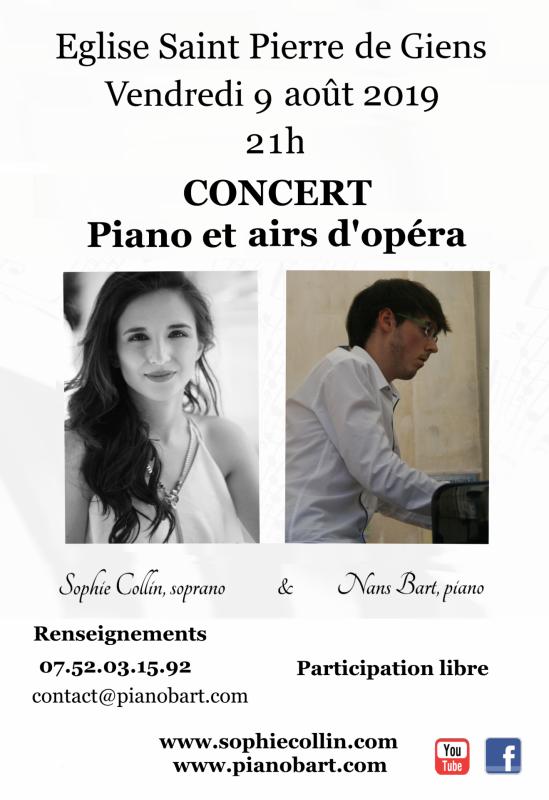 Concert à Giens, août 2019