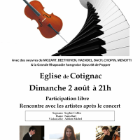 Concert à Cotignac 2015