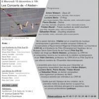 Concert Institut Cervantes 2012