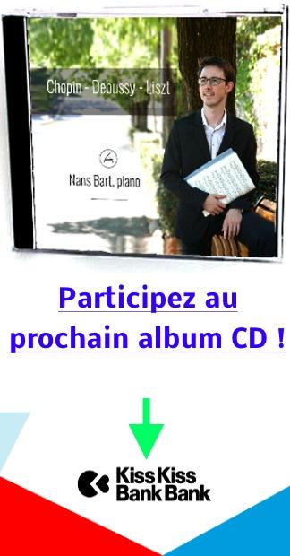 Nans Bart, premier Album CD !