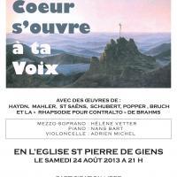 Concert Presqu'île de Giens / Août 2013