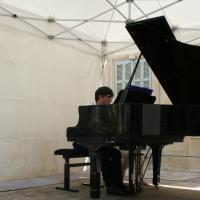 La Roque-d'Anthéron / 21 juin 2015 - Nans Bart, piano